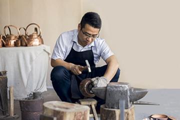 神雕銅藝第六代傳承人程頤