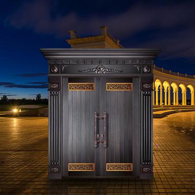 精雕铜门系列