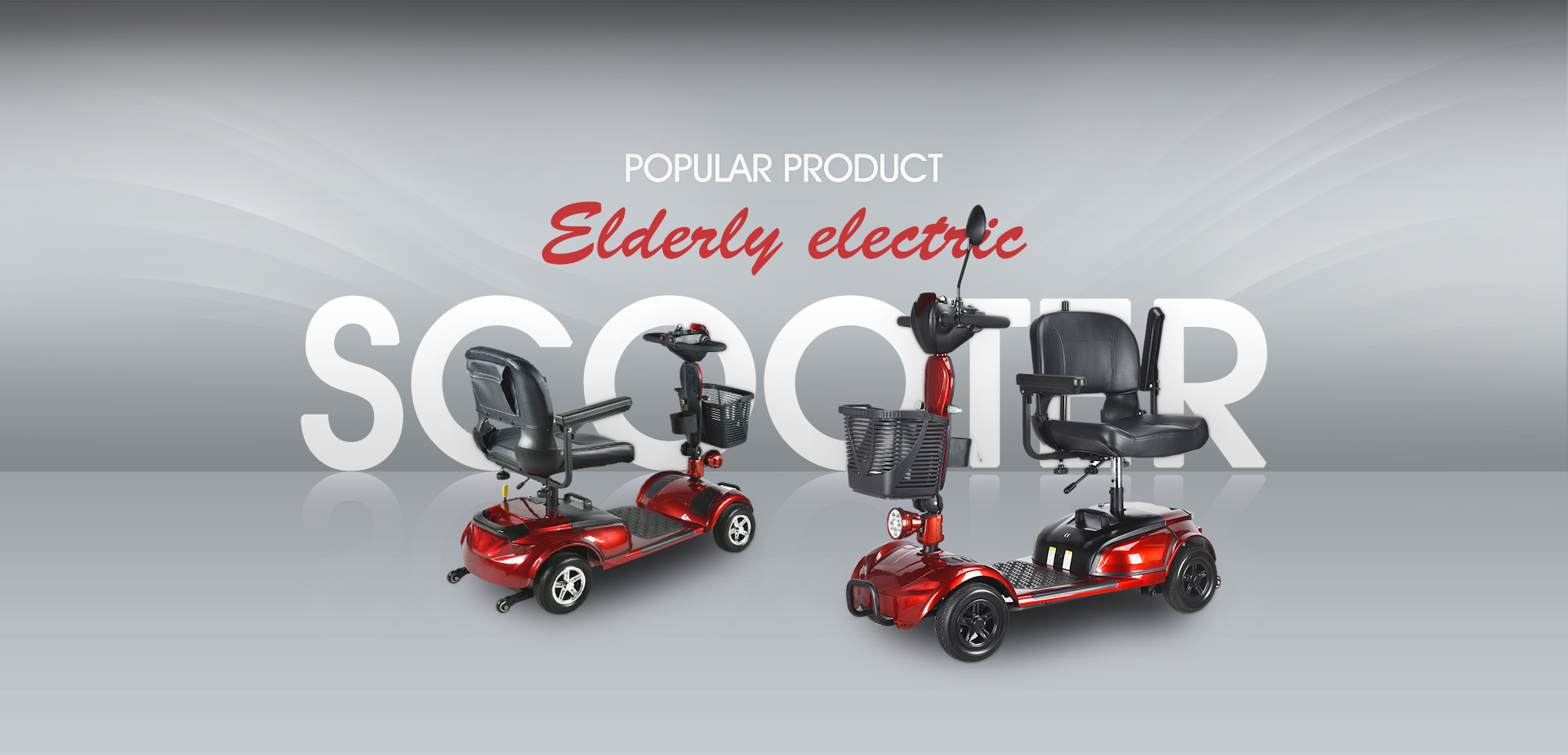 Elderly electric scooter