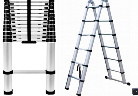 how is telescopic ladder
