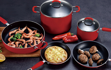PRESSED ALUMINUM COOKWARE SERIES