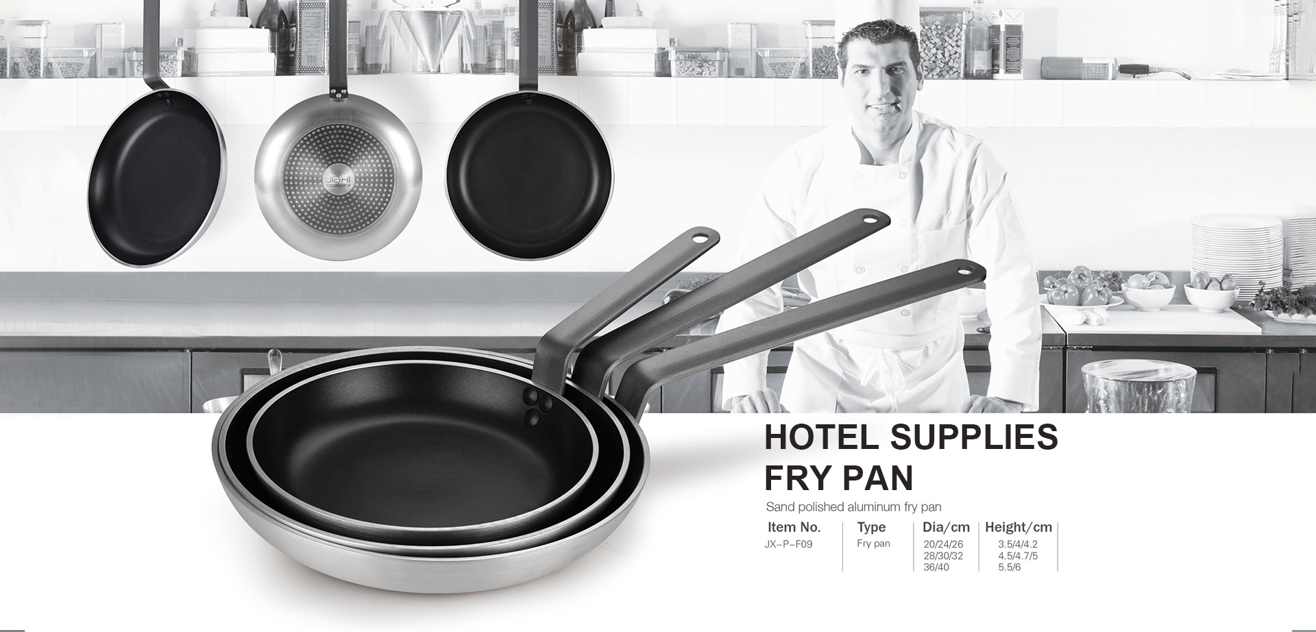 Hotel Supplies Fry Pan