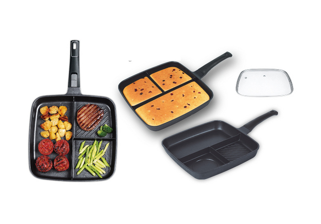 Multifunctional Grill Pan