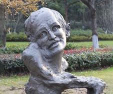 名人小品雕塑