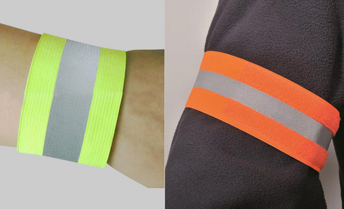 Led reflective wrist strap series